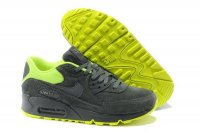 Womens Air Max 90 Premium Dark Grey/Green