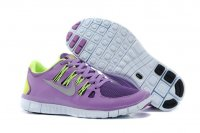 Womens Nike Free 5.0 V2 Purple Green