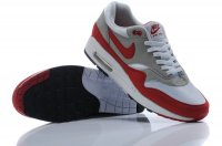 Mens Air Max 87 White Grey Red