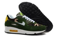 Mens Air Max 90 Dark Green/White