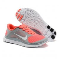 Womens Nike Free 4.0 V3 Grey Orange