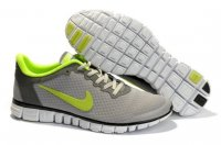 Womens Nike Free 3.0 V2 Grey Green