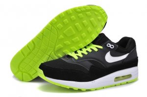 Mens Air Max 87 Black Green
