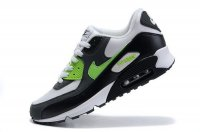 Mens Nike Air Max 90 White/Black/Green