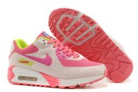 Womens Air Max 90 Hyperfuse Premium Grey/Pink
