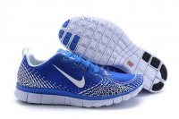 Womens Nike Free 5.0 V4 Blue Grey
