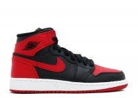 "air jordan 1 retro high og bg (gs) ""bred"""