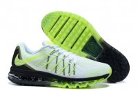 Mens Air Max 2015 White Green