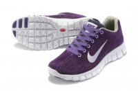 Womens Nike Free Run+ 3 Purple White