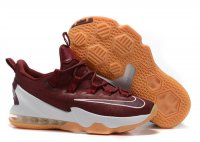 lebron 13 low claret-red