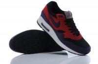 Mens Air Max 87 Black Red Purple