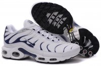 Mens Nike Air Max TN I White Darkblue