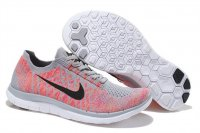 Womens Nike Free 4.0 Flyknit Black Peach