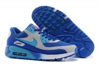 Womens Air Max 90 Hyperfuse Premium Blue/Grey