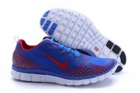 Mens Nike Free 5.0 V4 Blue Red