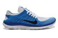 Mens Nike Free 4.0 Flyknit Blue White