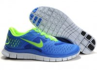 Mens Nike Free 4.0 V2 Blue Green