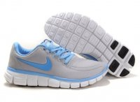 Womens Nike Free 5.0 V4 Grey Blue