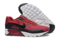 Mens Air Max 90 Ultra BR Dark Red/Black/White