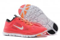 Womens Nike Free TR Fit Orange White