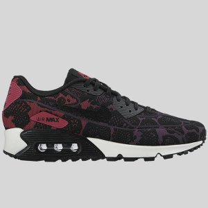 Nike Wmns Air Max 90 JCRD Mulberry Black