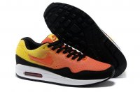Womens Air Max 87 Orange Black