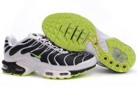 Mens Nike Air Max TN I WhiteBlack Green