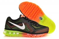 Mens Nike Air Max 2014 Black Green