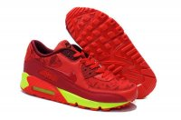 Mens Air Max 90 Shoe Red/Volt