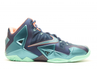 "lebron 11 ""miami vs akron"""
