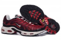 Mens Nike Air Max TN I White Red Black