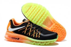 Womens Air Max 2015 Black Mago Green