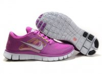 Womens Nike Free Run+ 3 Purple Silver
