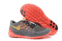Womens Nike Free 5.0 Grey Orange