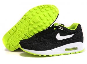 Womens Air Max 87 Jean Black