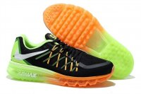Mens Air Max 2015 Black Orange