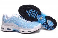 Mens Nike Air Max TN I White Skyblue