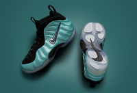 "air foamposite pro ""Island Green"""
