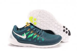 Mens Nike Free 5.0 White Grass