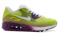 Womens Air Max 90 Lunar C3.0 Bright Grape/White/Venom Green