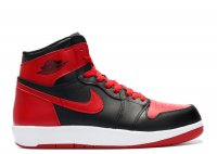 "air jordan 1 hi the return bg (gs) ""bred"""