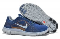 Mens Nike Free 5.0 Wool Skin Grey Blue