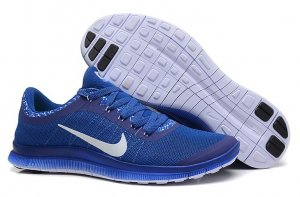 Mens Nike Free 3.0 V6 Blue White