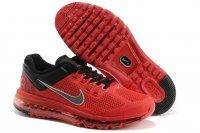 Mens Air Max 2013 Red Black