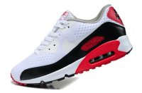 Mens Nike Air Max 90 Premium EM White/Black/Red