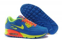 Womens Air Max 90 Blue/Orange/Volt