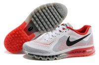 Mens Nike Air Max 2014 Black White Red