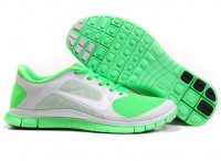Womens Nike Free 4.0 V3 Grey Green