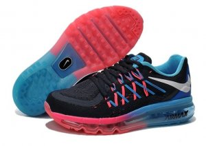 Womens Air Max 2015 Blue Pink Silver