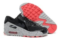 Womens Air Max 90 Black/White/Pink